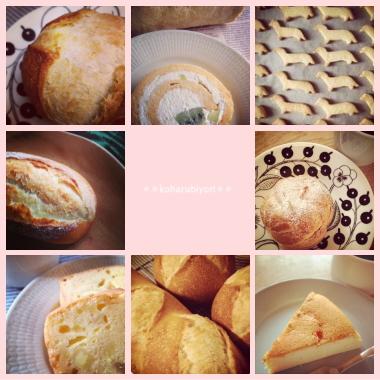 パン&お菓子たち