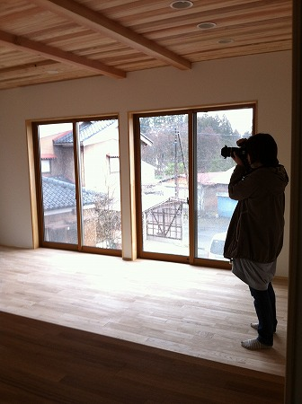 阿賀野市 二世帯住宅 撮影