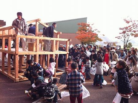 阿賀野市 文化祭 木工教室