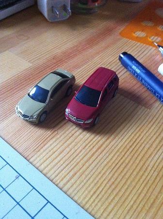 建築模型 車