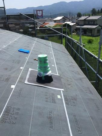 ガルバリウム鋼板 横葺